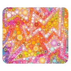 Sunshine Bubbles Double Sided Flano Blanket (small)  by KirstenStar