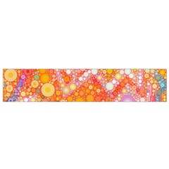 Sunshine Bubbles Flano Scarf (small) by KirstenStar