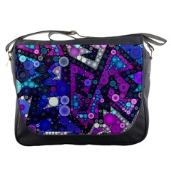 Hipster Bubbes Messenger Bags by KirstenStar