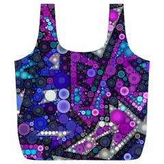 Hipster Bubbes Full Print Recycle Bags (l)  by KirstenStar