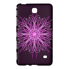 Pink Kaleidoscope Flower Mandala Art Samsung Galaxy Tab 4 (7 ) Hardshell Case  by yoursparklingshop