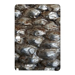 Festive Silver Metallic Abstract Art Samsung Galaxy Tab Pro 10 1 Hardshell Case by yoursparklingshop