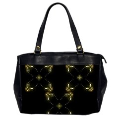 Festive Black Golden Lights  Office Handbags (2 Sides)  by yoursparklingshop