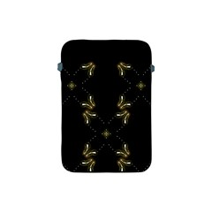 Festive Black Golden Lights  Apple Ipad Mini Protective Soft Cases by yoursparklingshop