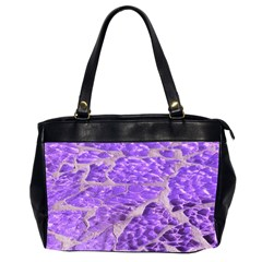 Festive Chic Purple Stone Glitter  Office Handbags (2 Sides)  by yoursparklingshop