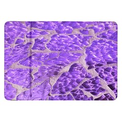 Festive Chic Purple Stone Glitter  Samsung Galaxy Tab 8 9  P7300 Flip Case by yoursparklingshop