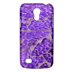 Festive Chic Purple Stone Glitter  Galaxy S4 Mini by yoursparklingshop