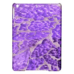 Festive Chic Purple Stone Glitter  Ipad Air Hardshell Cases by yoursparklingshop