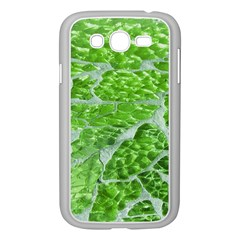 Festive Chic Green Glitter Shiny Glamour Sparkles Samsung Galaxy Grand Duos I9082 Case (white) by yoursparklingshop