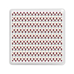 Geometric Retro Patterns Memory Card Reader (square)