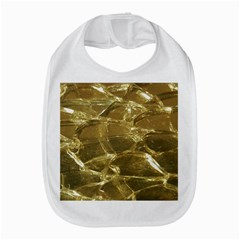 Gold Bar Golden Chic Festive Sparkling Gold  Bib by yoursparklingshop