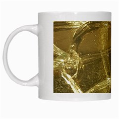 Gold Bar Golden Chic Festive Sparkling Gold  White Mugs by yoursparklingshop