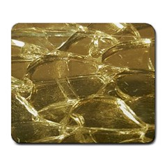 Gold Bar Golden Chic Festive Sparkling Gold  Large Mousepads by yoursparklingshop