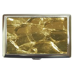 Gold Bar Golden Chic Festive Sparkling Gold  Cigarette Money Cases by yoursparklingshop