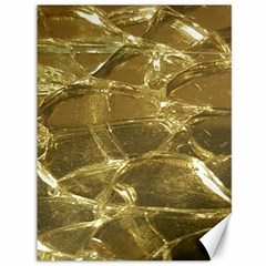 Gold Bar Golden Chic Festive Sparkling Gold  Canvas 36  X 48   by yoursparklingshop