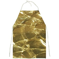 Gold Bar Golden Chic Festive Sparkling Gold  Full Print Aprons by yoursparklingshop