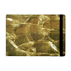 Gold Bar Golden Chic Festive Sparkling Gold  Apple Ipad Mini Flip Case by yoursparklingshop