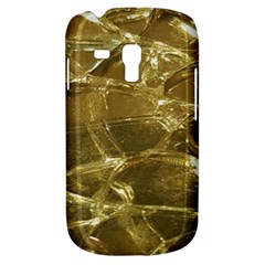 Gold Bar Golden Chic Festive Sparkling Gold  Samsung Galaxy S3 Mini I8190 Hardshell Case by yoursparklingshop