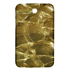 Gold Bar Golden Chic Festive Sparkling Gold  Samsung Galaxy Tab 3 (7 ) P3200 Hardshell Case  by yoursparklingshop