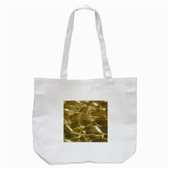 Gold Bar Golden Chic Festive Sparkling Gold  Tote Bag (white) by yoursparklingshop