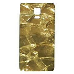 Gold Bar Golden Chic Festive Sparkling Gold  Galaxy Note 4 Back Case by yoursparklingshop