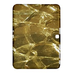 Gold Bar Golden Chic Festive Sparkling Gold  Samsung Galaxy Tab 4 (10 1 ) Hardshell Case  by yoursparklingshop