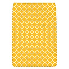 Sunny Yellow Quatrefoil Pattern Removable Flap Cover (l) by Zandiepants