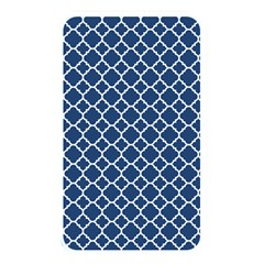 Navy Blue Quatrefoil Pattern Memory Card Reader (rectangular) by Zandiepants