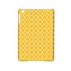 Sunny Yellow Quatrefoil Pattern Apple Ipad Mini 2 Hardshell Case by Zandiepants
