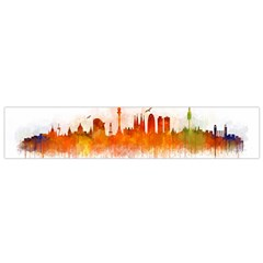 Barcelona City Art Flano Scarf (small) by hqphoto