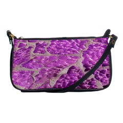 Festive Chic Pink Glitter Stone Shoulder Clutch Bags by yoursparklingshop
