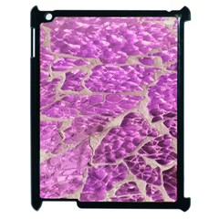 Festive Chic Pink Glitter Stone Apple Ipad 2 Case (black) by yoursparklingshop