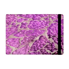 Festive Chic Pink Glitter Stone Ipad Mini 2 Flip Cases by yoursparklingshop