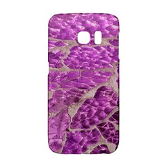 Festive Chic Pink Glitter Stone Galaxy S6 Edge by yoursparklingshop