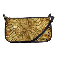 Chic Festive Elegant Gold Stripes Shoulder Clutch Bags by yoursparklingshop
