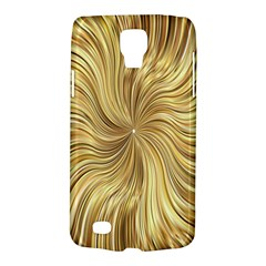 Chic Festive Elegant Gold Stripes Galaxy S4 Active by yoursparklingshop