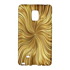 Chic Festive Elegant Gold Stripes Galaxy Note Edge by yoursparklingshop