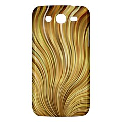 Gold Stripes Festive Flowing Flame  Samsung Galaxy Mega 5 8 I9152 Hardshell Case  by yoursparklingshop