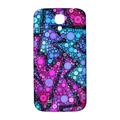 Blues Bubble Love Samsung Galaxy S4 I9500/i9505  Hardshell Back Case by KirstenStar