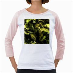 Amazing Fractal 24 Girly Raglans