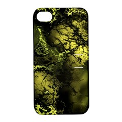 Amazing Fractal 24 Apple Iphone 4/4s Hardshell Case With Stand by Fractalworld