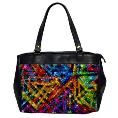 Color Play In Bubbles Office Handbags by KirstenStar