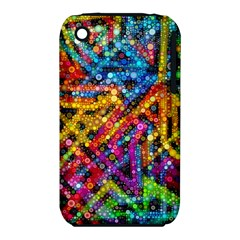 Color Play In Bubbles Apple Iphone 3g/3gs Hardshell Case (pc+silicone) by KirstenStar