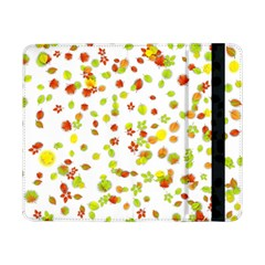 Colorful Fall Leaves Background Samsung Galaxy Tab Pro 8 4  Flip Case by TastefulDesigns