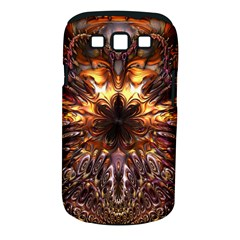 Golden Metallic Abstract Flower Samsung Galaxy S Iii Classic Hardshell Case (pc+silicone) by CrypticFragmentsDesign