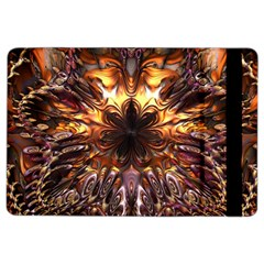 Golden Metallic Abstract Flower Ipad Air 2 Flip
