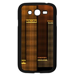Metallic Geometric Abstract Urban Industrial Futuristic Modern Digital Art Samsung Galaxy Grand Duos I9082 Case (black) by CrypticFragmentsDesign