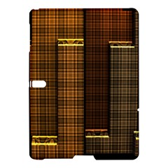 Metallic Geometric Abstract Urban Industrial Futuristic Modern Digital Art Samsung Galaxy Tab S (10 5 ) Hardshell Case