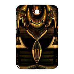 Golden Metallic Geometric Abstract Modern Art Samsung Galaxy Note 8 0 N5100 Hardshell Case  by CrypticFragmentsDesign