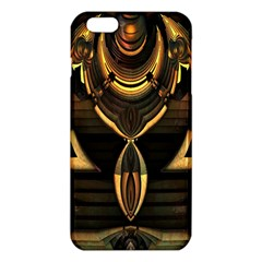 Golden Metallic Geometric Abstract Modern Art Iphone 6 Plus/6s Plus Tpu Case by CrypticFragmentsDesign